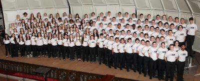 9-10 SATB Honor Choir in 2015-16 Season