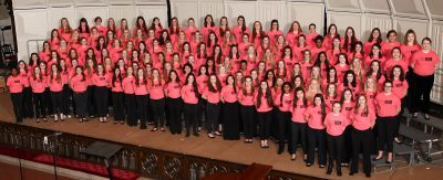 9-10 SSAA Honor Choir in 2015-16 Season